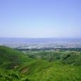阿蘇 根子岳から外輪山を望む