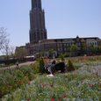 ハウステンボス ドムトールンと庭園